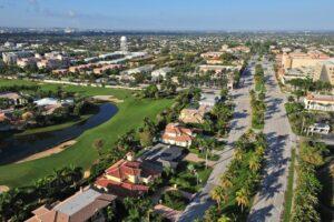 Weston Florida Aerial View